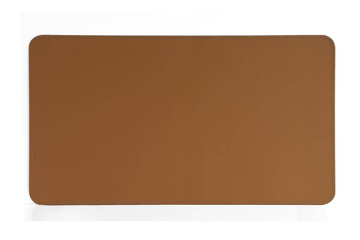 Бювар из итальянской кожи Cuoietto модель №9 цвет табак.