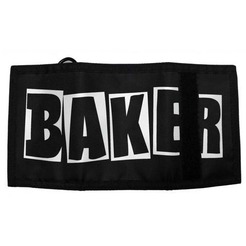 Кошелёк BAKER Brand Logo Tri-Fold (Black)