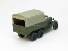 GAZ-AAA with awning 1:43 Nash Avtoprom