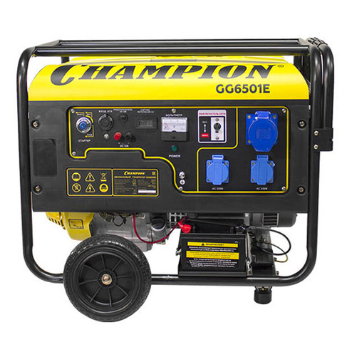 Электростанция Champion GG6501E+ATS