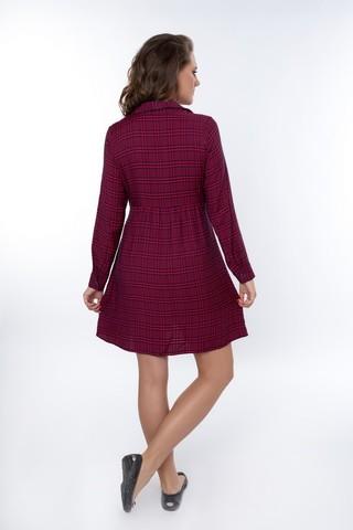 Платье 08966 красный