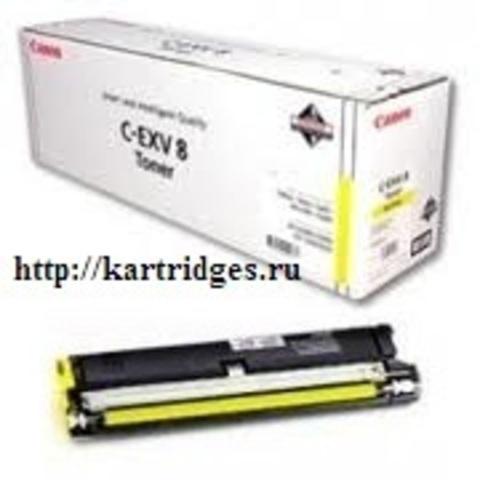 Картридж Canon C-EXV8Y (C-EXV8, C-EXV-8, C-EXV-8Y)