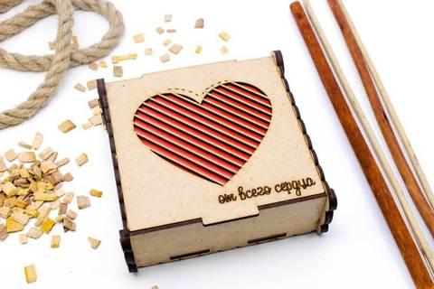 Чайная шкатулка - От всего сердца
