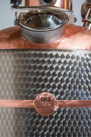 Дистиллятор медный люкс класса Des Dwpac AromaMax 500л