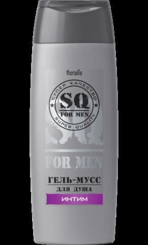 Floralis SQ For Men Гель-мусс для душа Интим 250г