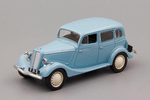 GAZ-M1 1936-1941 turquoise 1:43 DeAgostini Auto Legends USSR #261