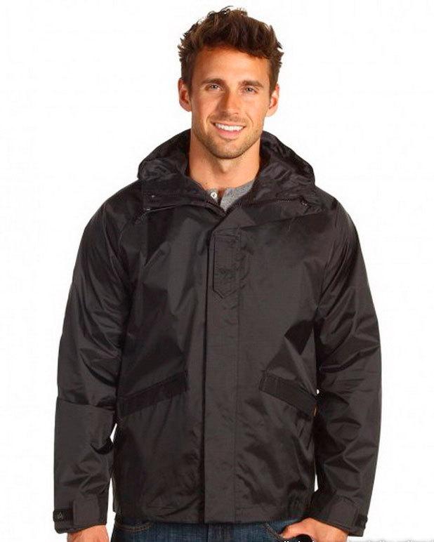 Куртка ветровка Alpha - Bunker (черная - black)