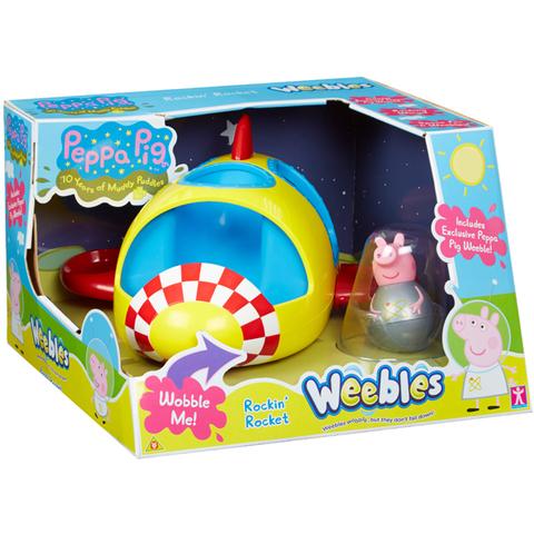 Игровой набор «Ракета Пеппы-неваляшки», Peppa Pig