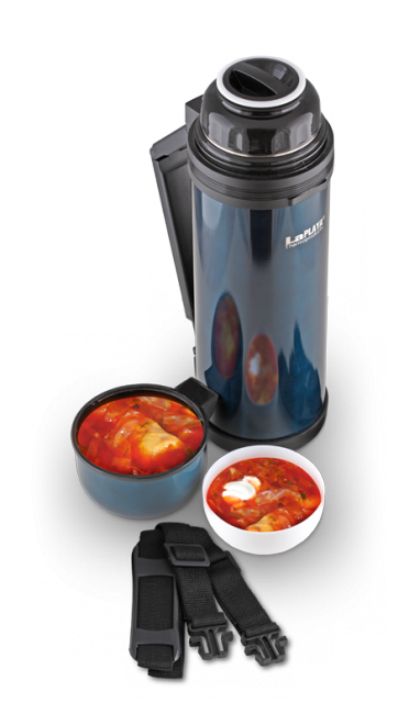 Термос универсальный (для еды и напитков) LaPlaya Traditional (0,8 литра), синий