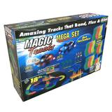 Конструктор Magic Tracks (Мэджик Трек) 360 деталей – светящаяся гиб...