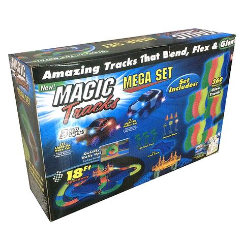 Конструктор Magic Tracks (360 дет) с туннелем