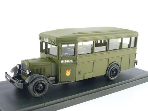 ZIS-8 Military bus 1:43 Miniclassic