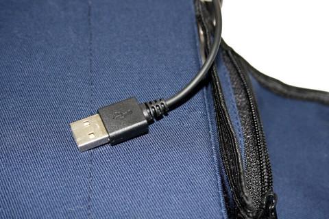 Комплект-подарок: сиденье и муфта с подогревом, 2 греющих модуля c USB разъёмом