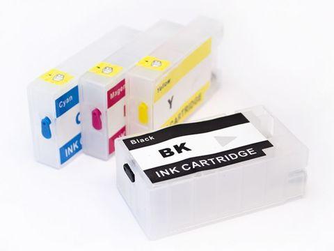 Перезаправляемые картриджи PGI-2400XL х 4 шт. для принтеров Canon MAXIFY  iB4040, iB4140, MB5040, MB5140, MB5340, MB5440