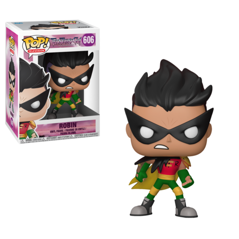 Фигурка Funko POP! Vinyl: Teen Titans Go the Night Begins To Shine S1: Robin 28678