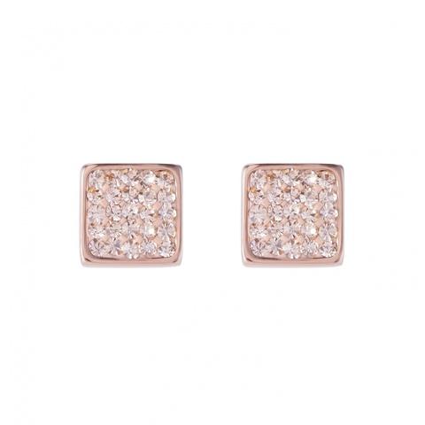Серьги Coeur de Lion 0217/21-0225 цвет розовый