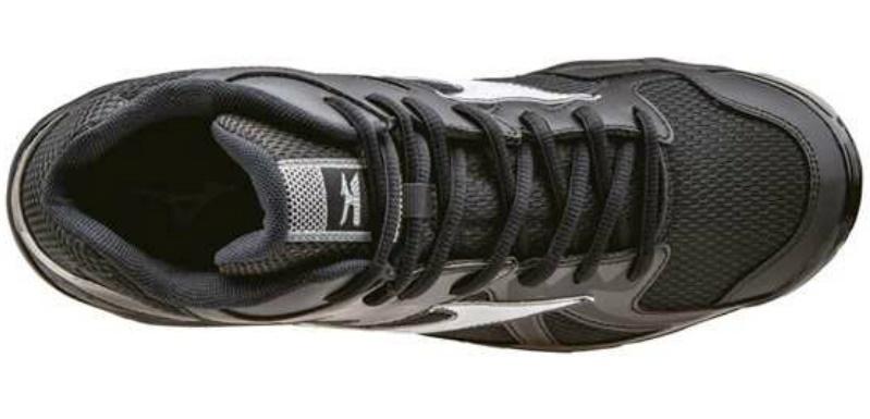 Мужские высокие волейбольные кроссовки Mizuno Wave Bolt 4 Mid черные (V1GA1565 01) фото