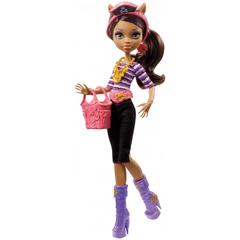 Кукла Монстер Хай Клодин Вульф (Clawdeen Wolf) - Кораблекрушение, Mattel