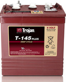 Тяговый аккумулятор Trojan T145+ ( 6V 260Ah / 6В 260Ач ) - фотография