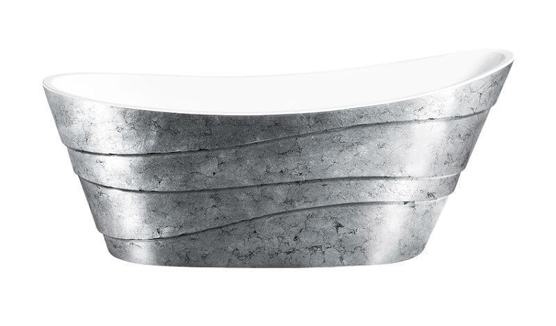 Акриловая ванна Lagard Alya Treasure Silver интерьеры дачных ванных комнат