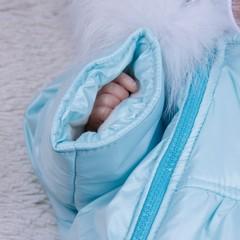 Зимний мешок - комбинезон Космонавт (Ментол)