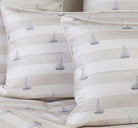Постельное белье 1.5 спальное Elegante Portlane песочное