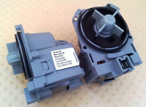 Насос для стиральной машины Bosch Maxx4/Maxx5 без улит.3 защелк.,фишка вперёд - Askoll M50/M215/M221 ПРОМО