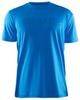 Мужская беговая футболка Craft Prime Run Logo -1355 голубая