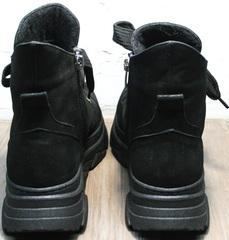 Женские ботинки из натуральной кожи на осень весну Rifellini Rovigo 525 Black.
