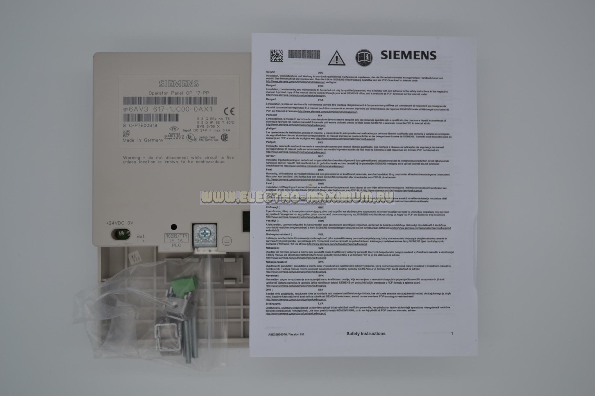 6AV3 617-1JC00-0AX1