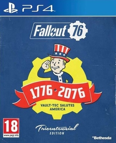 PS4 Fallout 76. Tricentennial Edition (русские субтитры)