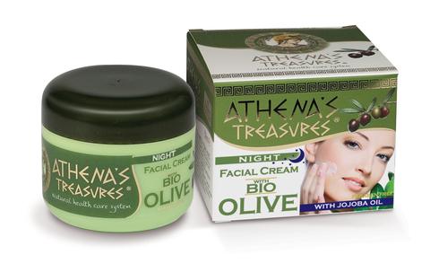 Ночной крем для лица ATHENA'S TREASURES от Pharmaid
