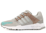 Кроссовки Мужские ADIDAS Equipment Running Support 93 Grey Beige Suede Mint White