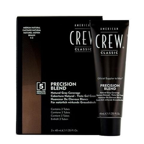 Камуфляж для седых волос Аmerican Сrew Темный натур. 2/3, 340 мл.