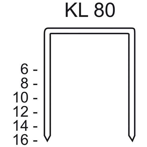 Скобы тип KL 80/16 CNK/3000
