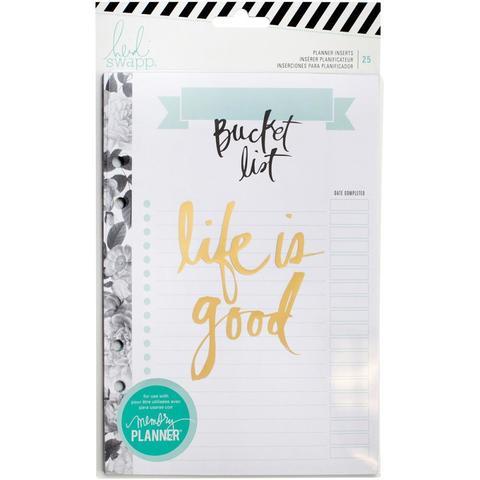 Блок страниц для ежедневника Heidi Swapp Large Memory Planner -15х20 см