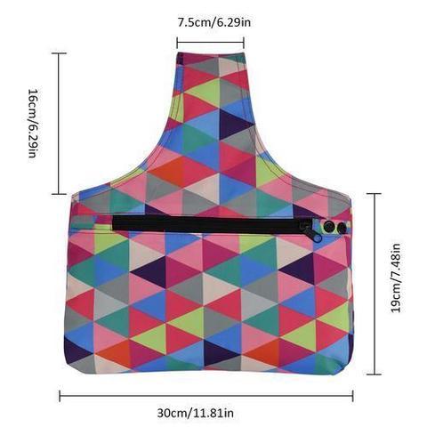 Проектная сумка для пряжи и спиц