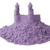 Космический песок 3 кг, сиреневый 4