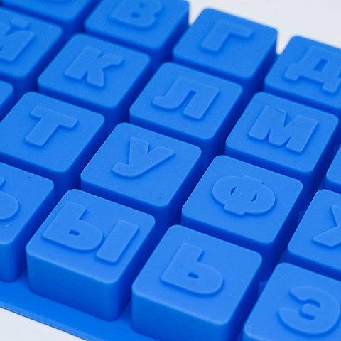 Форма для мыла Алфавит