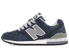 Кроссовки Женские New Balance 996 Navy Suede Grey