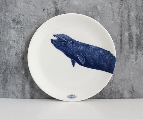 Тарелка Серый кит