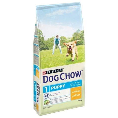 Dog Chow Puppy с курицей 14 кг