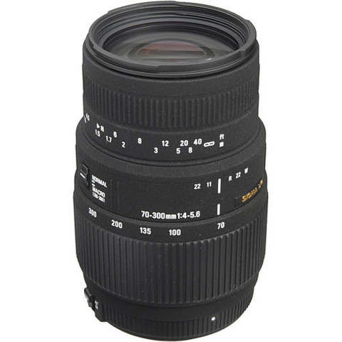 Объектив Sigma AF 70-300mm f/4-5.6 DG MACRO для Nikon F