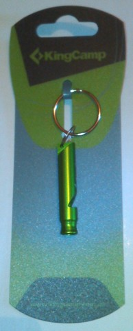брелок Kingcamp Aluminium Whistle