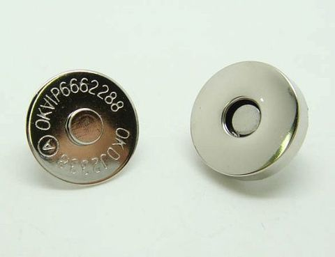 Кнопка магнитная диаметр 18 мм