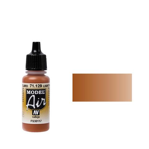 129 Краска Model Air Светло-ржавый (Light Rust) укрывистый, 17 мл