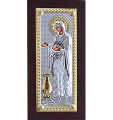 Геронтисса (Старица, Настоятельница). Икона Божьей Матери в серебряном окладе.