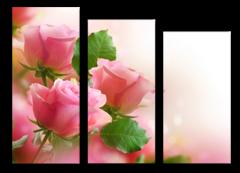 """Модульная картина """"Хрупкая роза"""""""