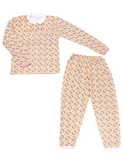 642-2 пижама детская, бежевая