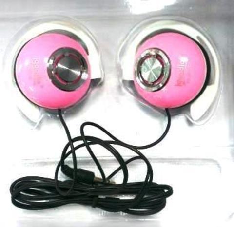 Наушники Igoodlo IG-2230 клипсы розовый